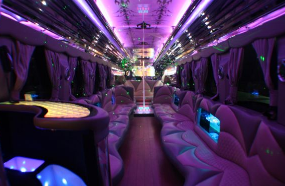 party bus rental for friends